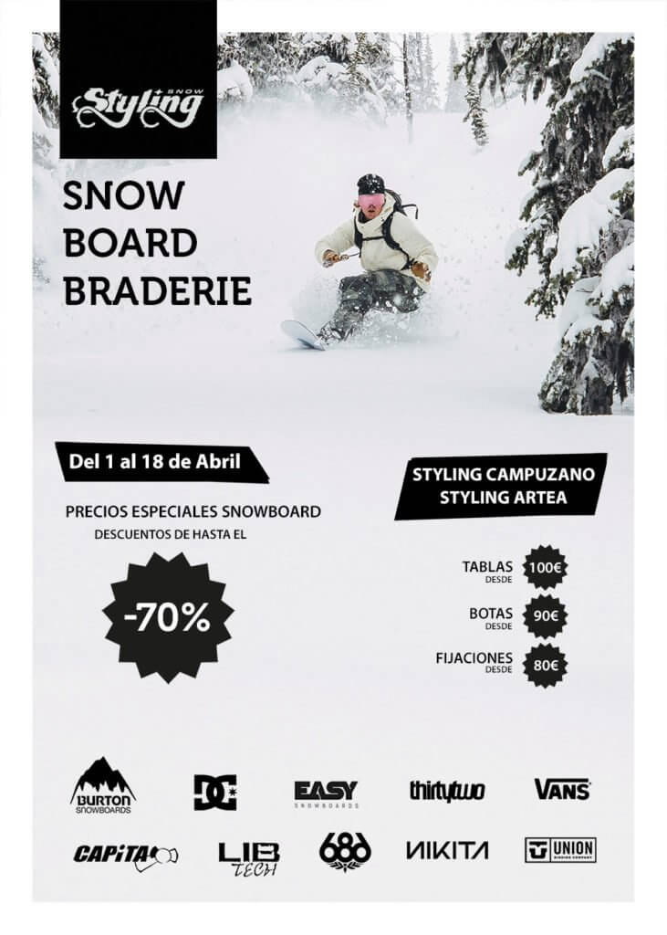 STYLING Snowboard Braderie