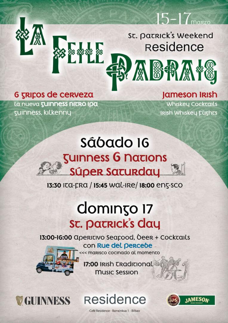 St Patrick's en Bilbao