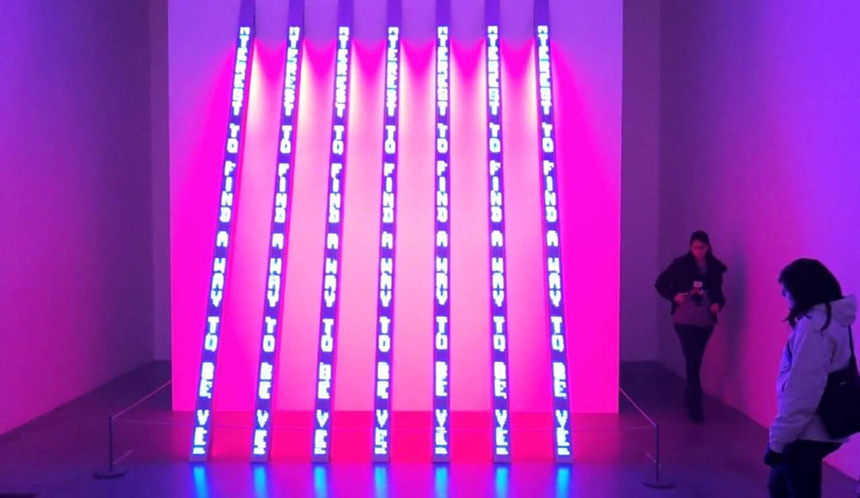 exposicion Jenny Holzer