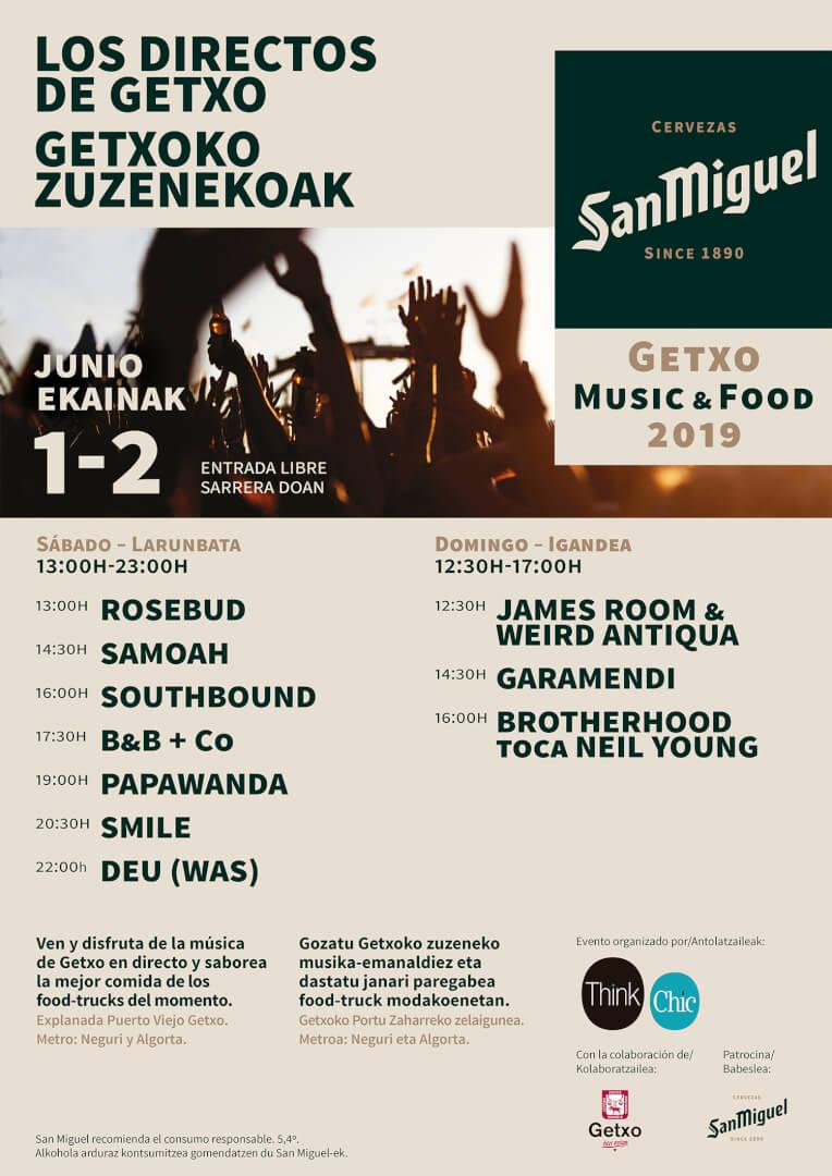 San Miguel Getxo Music & Food