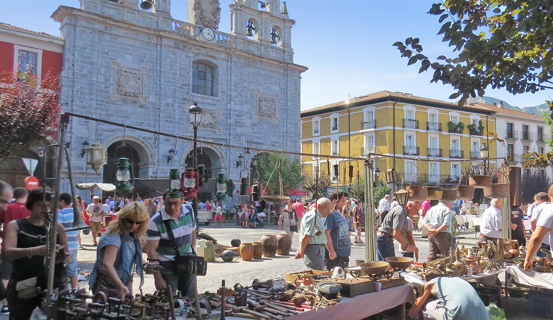 Feria Brocante: antigüedades y coleccionismo en Orduña