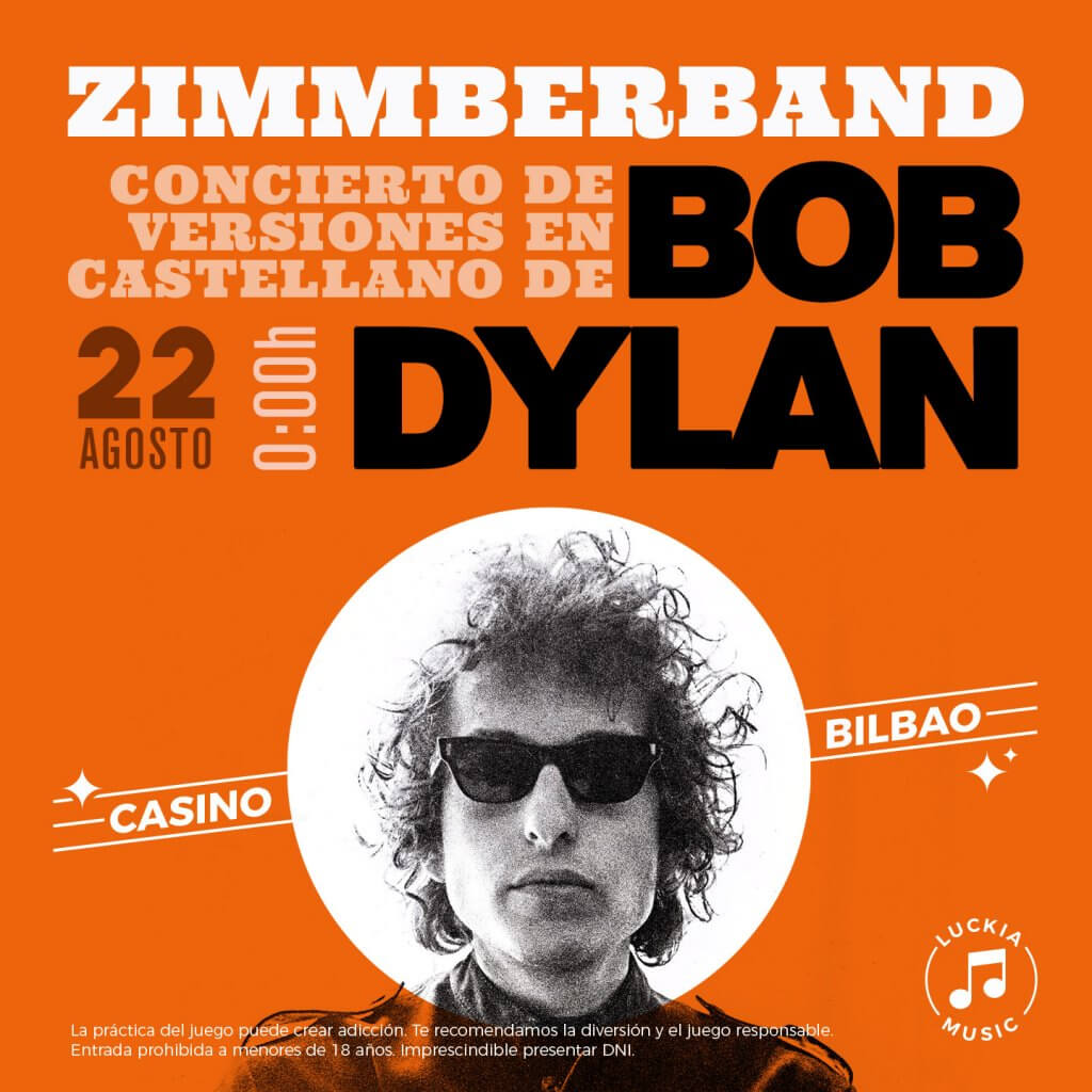 Concierto homenaje a Bob Dylan en Casino Bilbao