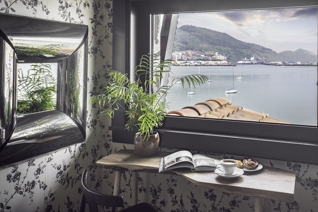 Hotel Ercilla Embarcadero - Acogedor Hotel mirando a la Bahia del Abra Bilbao - Hotel Embarcadero Getxo