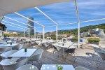 Terraza Gran Hotel Domine - Las mejores vistas para un café o un picoteo. Bilbao