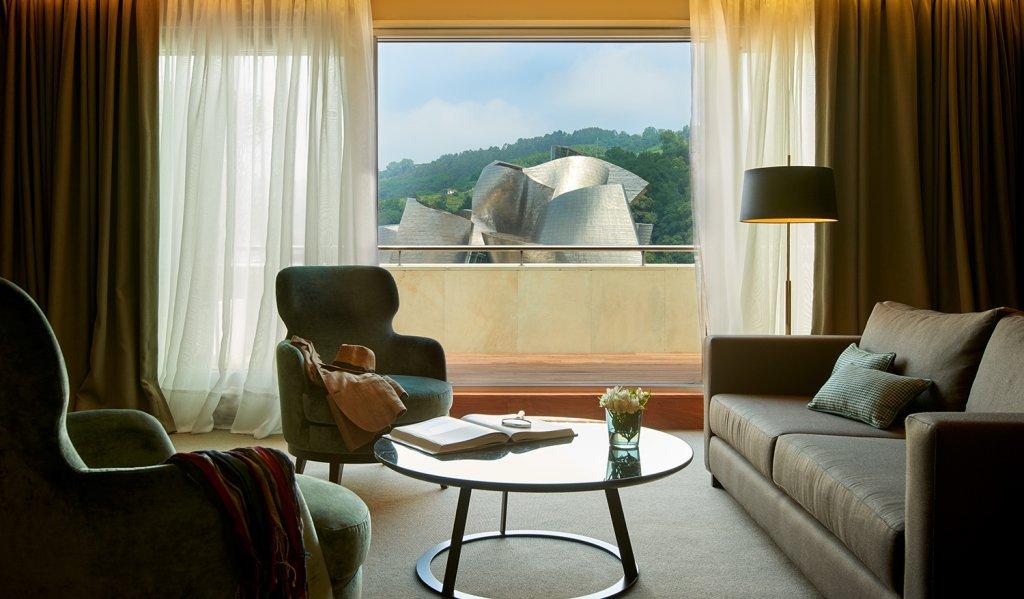 Gran Hotel Domine Bilbao - Vistas desde una habitación del Gran Hotel Domine Bilbao