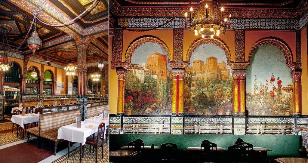 Café Iruña - café clásico de Bilbao - Café Iruña de Bilbao