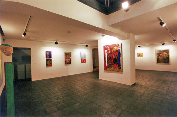 Lumbreras Gallery - Artistic project that encapsulates contemporary artists. Bilbao