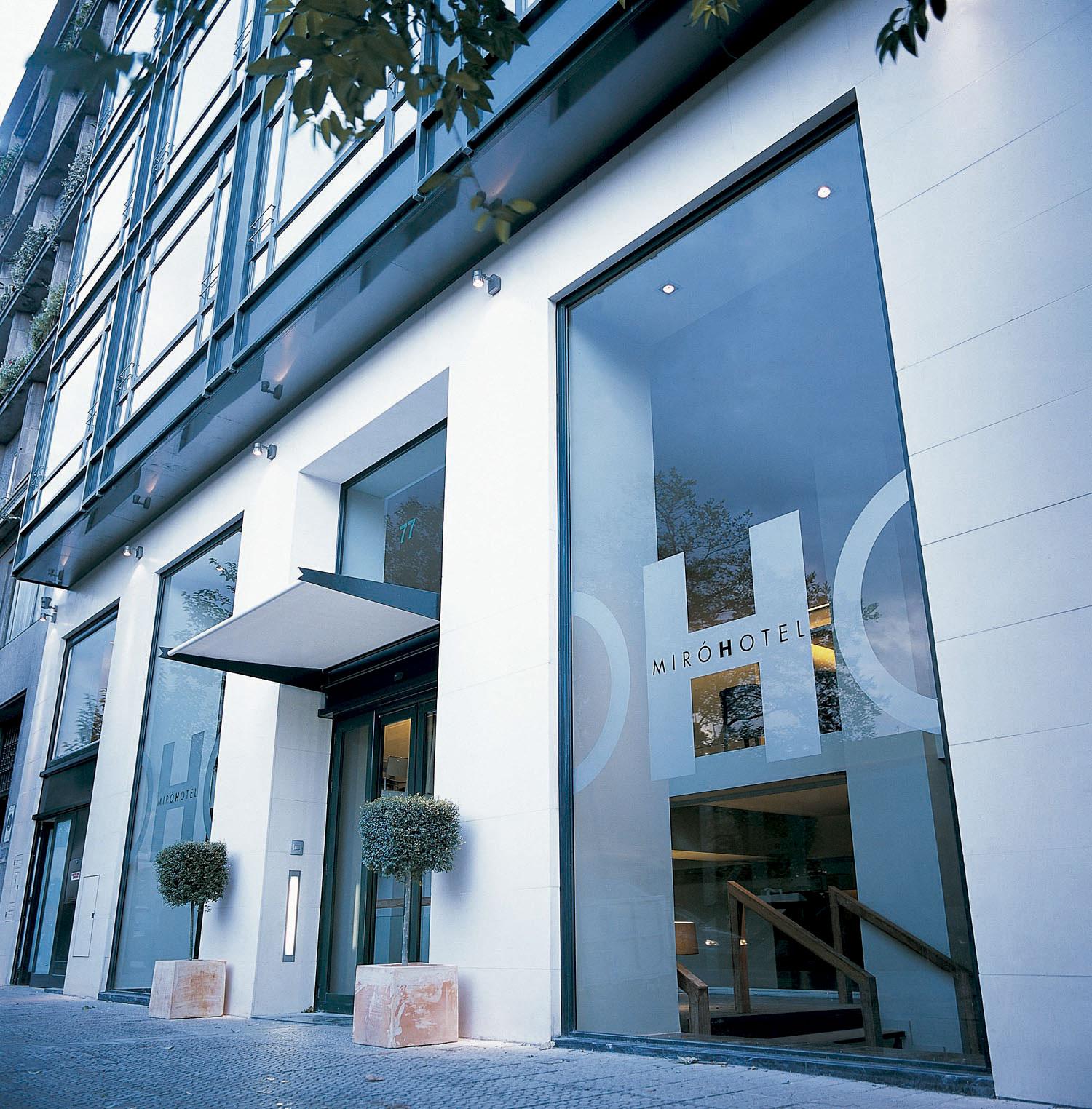 Fachada del Hotel Miró
