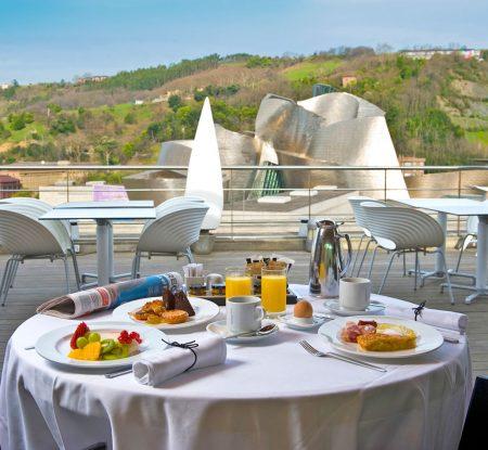 Terraza Gran Hotel Domine - Cocina Urbana Bilbao