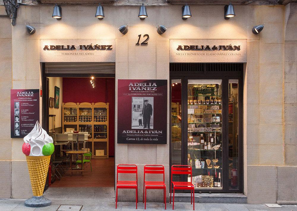 Turronería Adelia Ivañez - Los mejores Turrones y Helados de Bilbao.