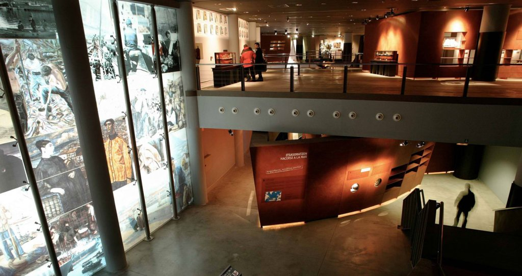 Maritime Museum Ría de Bilbao - A surface of 27.000 square meters