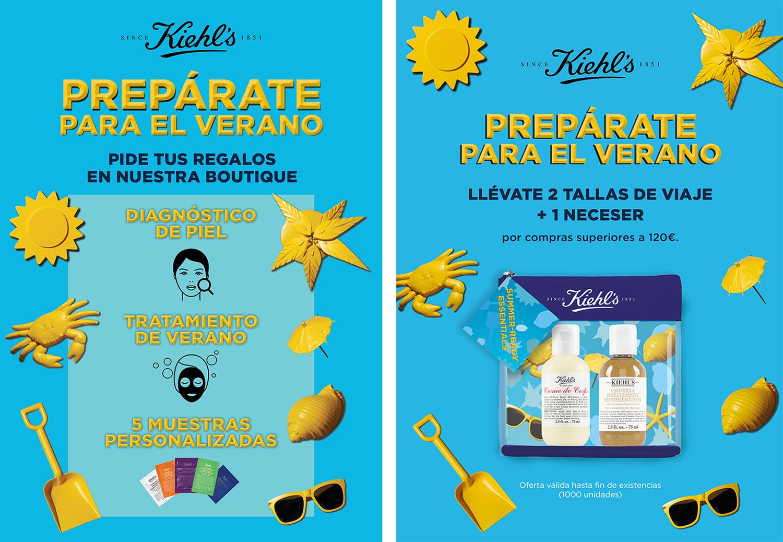 Prepárate para el verano con Kiehl's