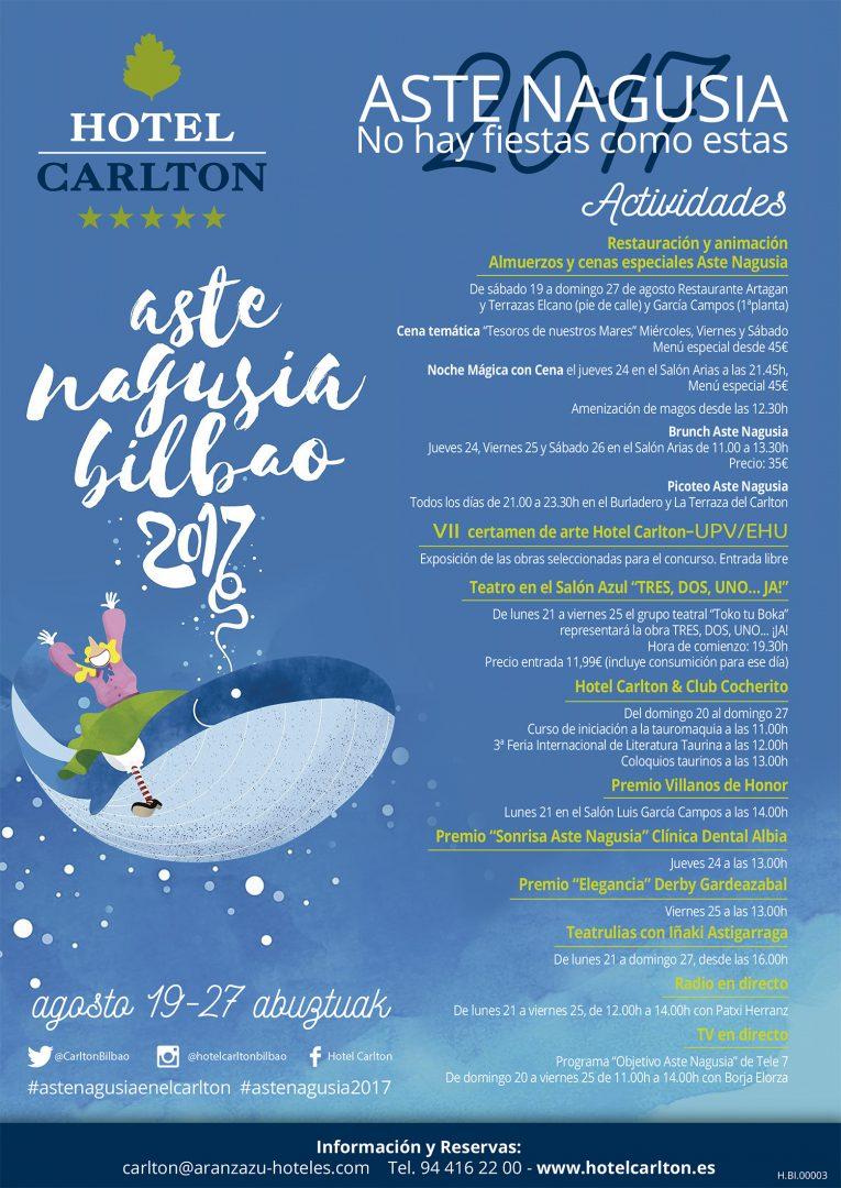 Aste Nagusia 2017 Hotel Carlton
