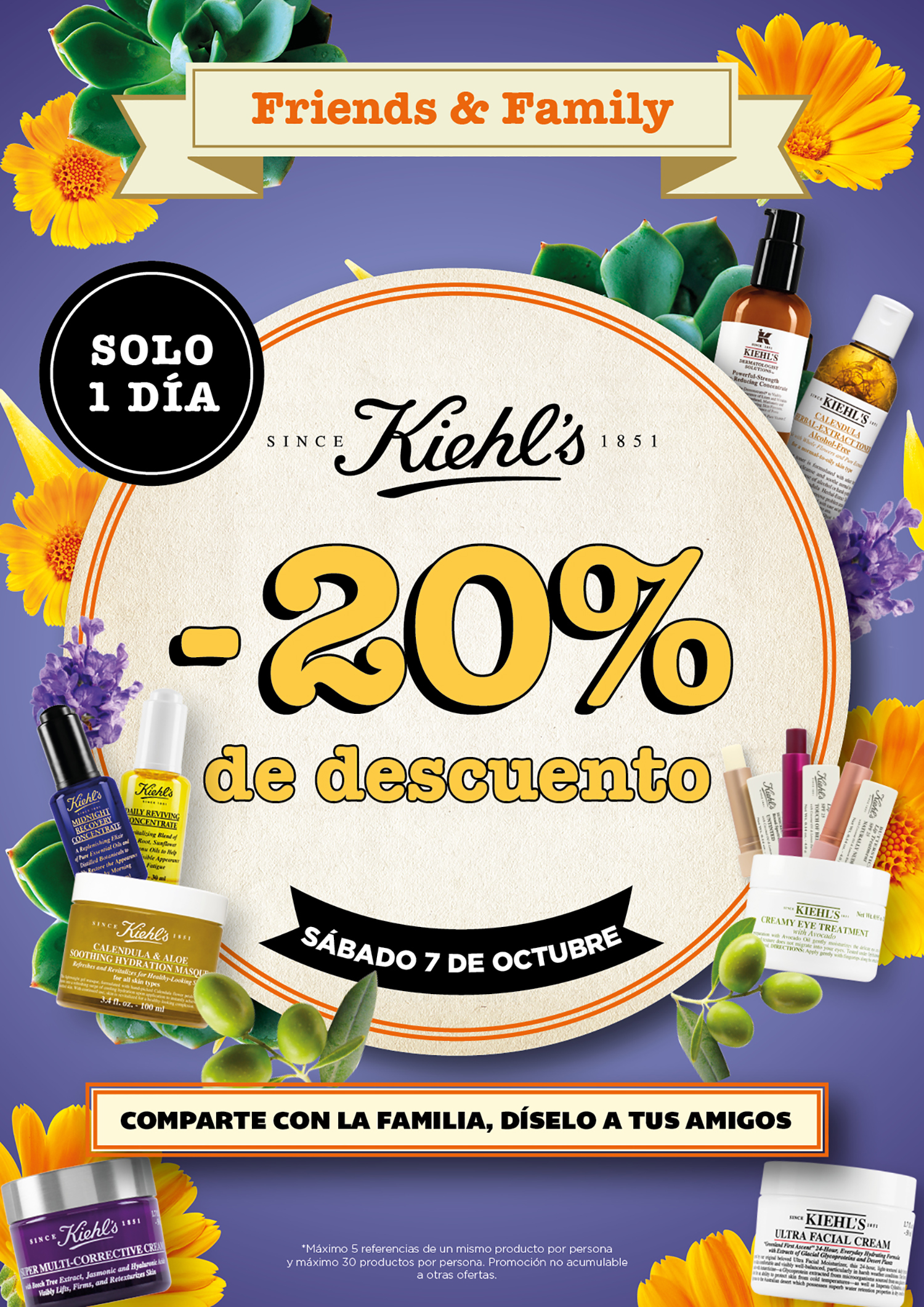 Friends And Family Day Kiehl's