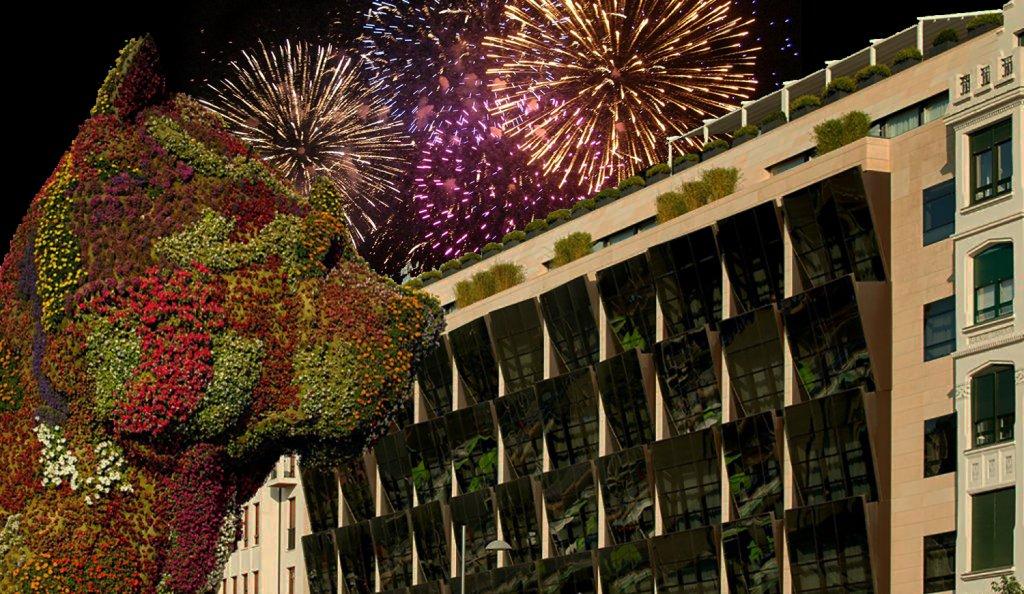 Navidad en el Gran Hotel Domine de Bilbao