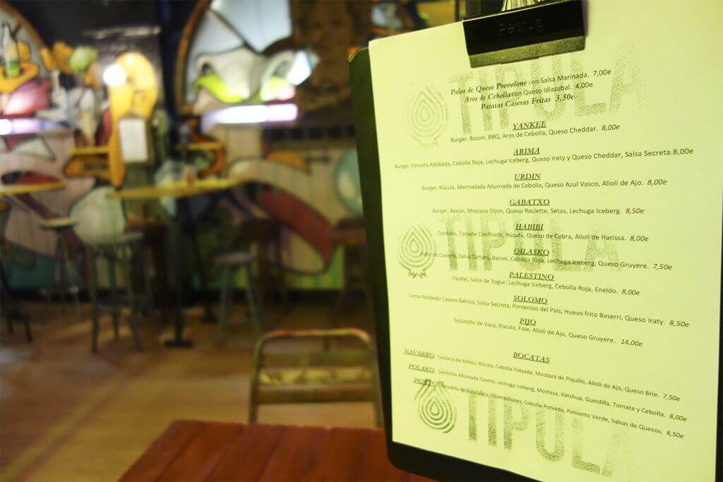 Tipula Burger - New Burger Restaurant in the Old Town by Arima Team Bilbao