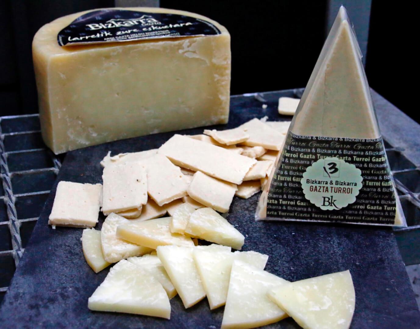 turron de queso bizkarra