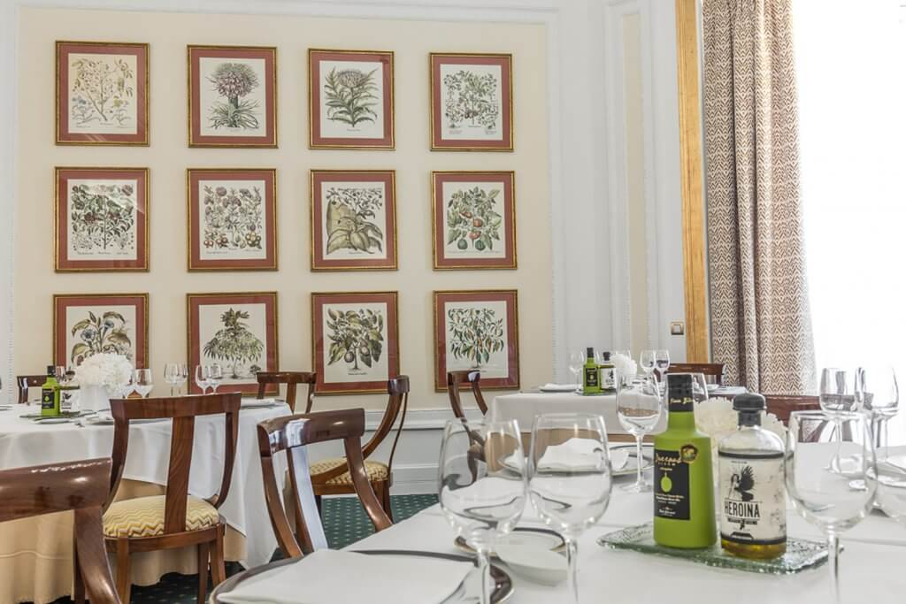 Restaurante Artagan. Cocina de temporada, con toques de vanguardia. Bilbao - Restaurante Artagan del Hotel Carlton de Bilbao