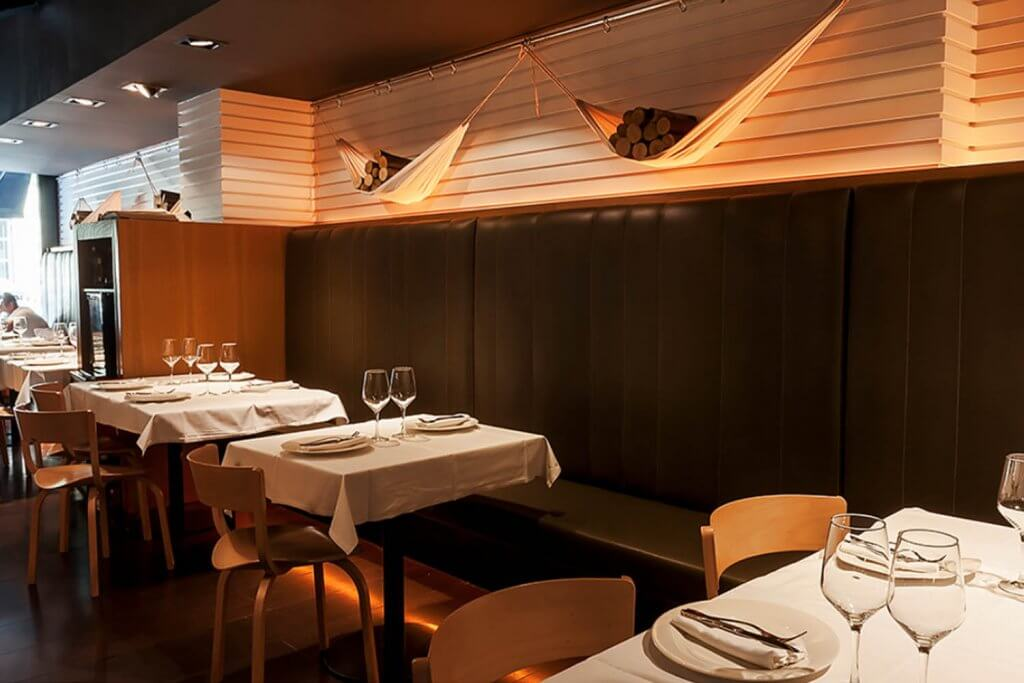 Zaka Lounge Restaurant - Restaurant located in the center of Bilbao