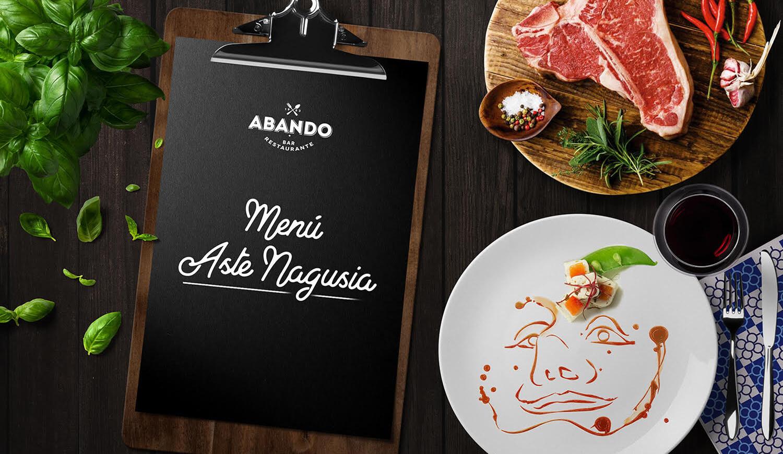 Menú Aste Nagusia 2018 Restaurante Abando Bilbao