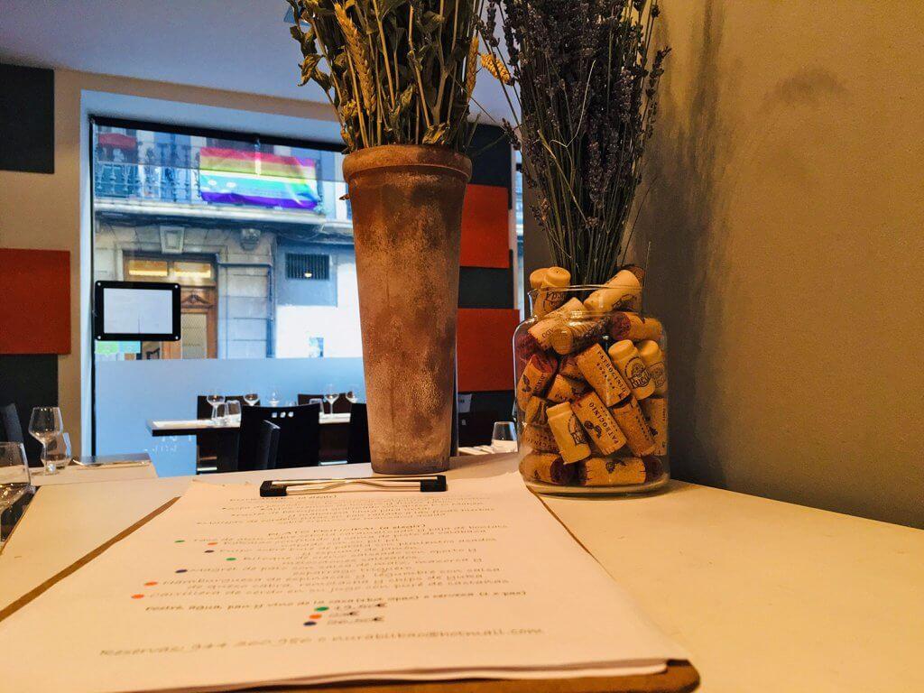 Menú Aste Nagusia 2019 Restaurante Nura Bilbao