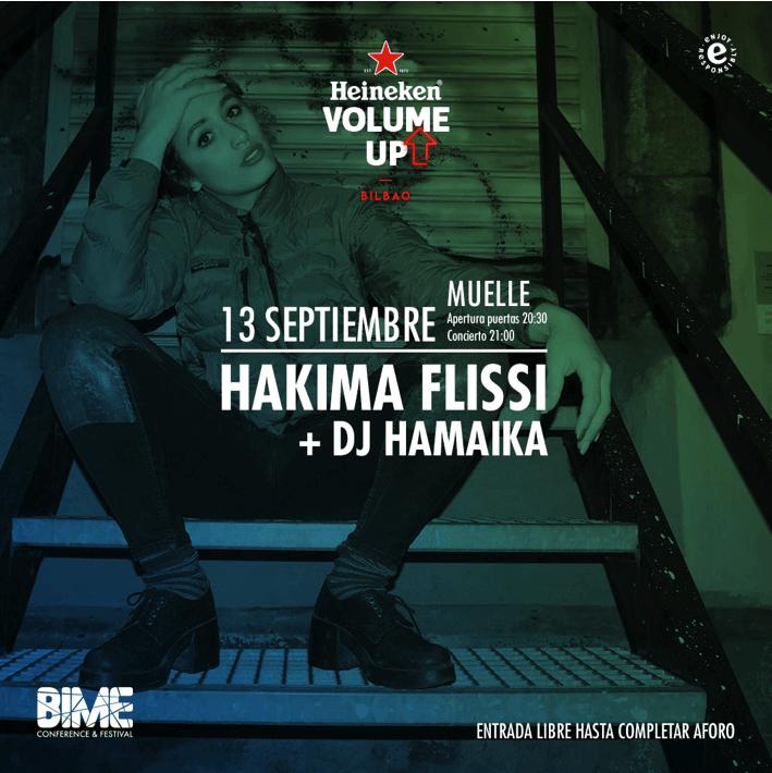 Hakima Flissi + DJ Hamaika - Heineken Volume Up