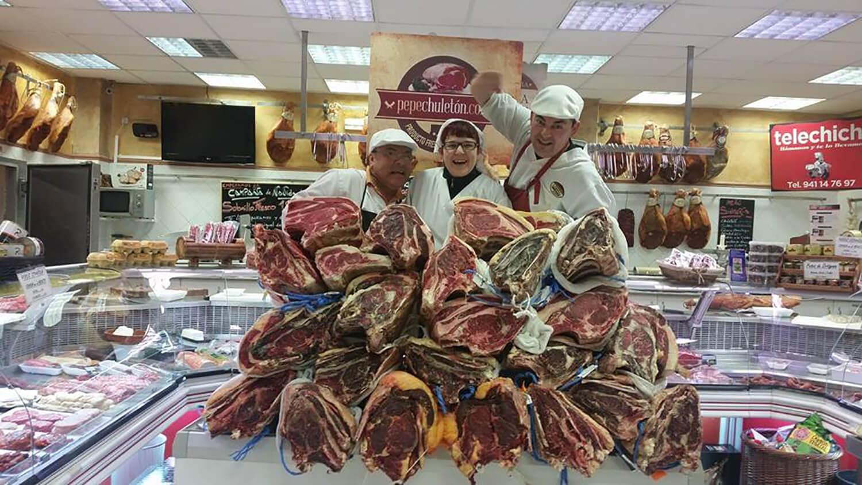 Carnicería Pepe Chuletón en Calahorra, La Rioja.