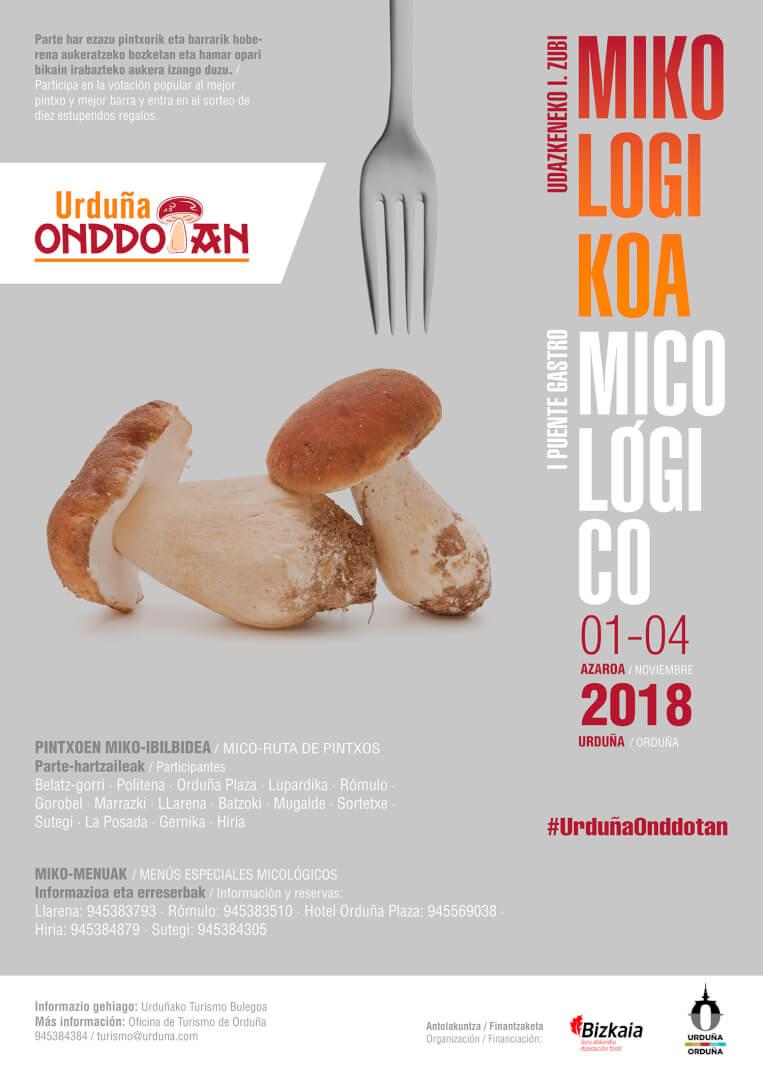 Semana micológica - Urduña Onddotan