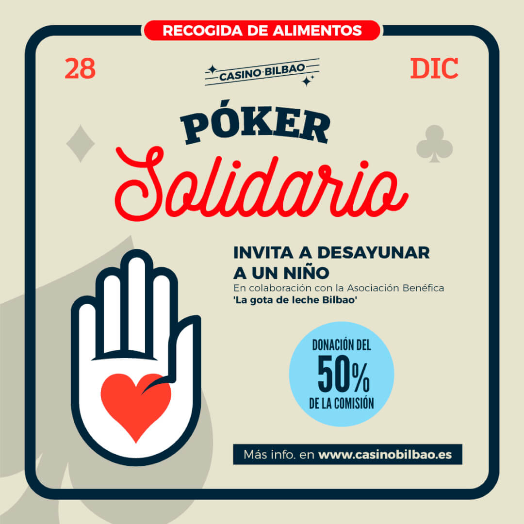 Poker Solidario Casino Bilbao