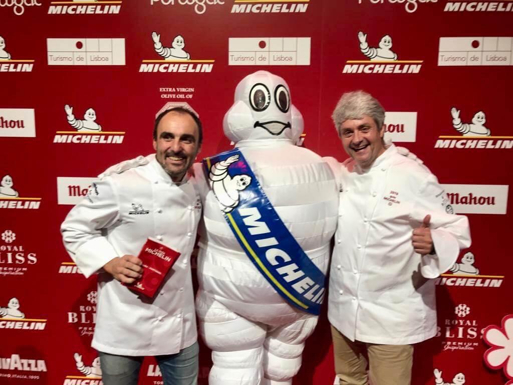 el chef vizcaíno Fernando Canales renueva la estrella Michelín 2019