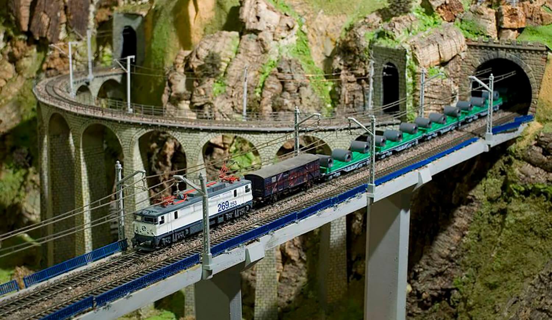 Exposición de Maquetas de trenes en Yimby Bilbao