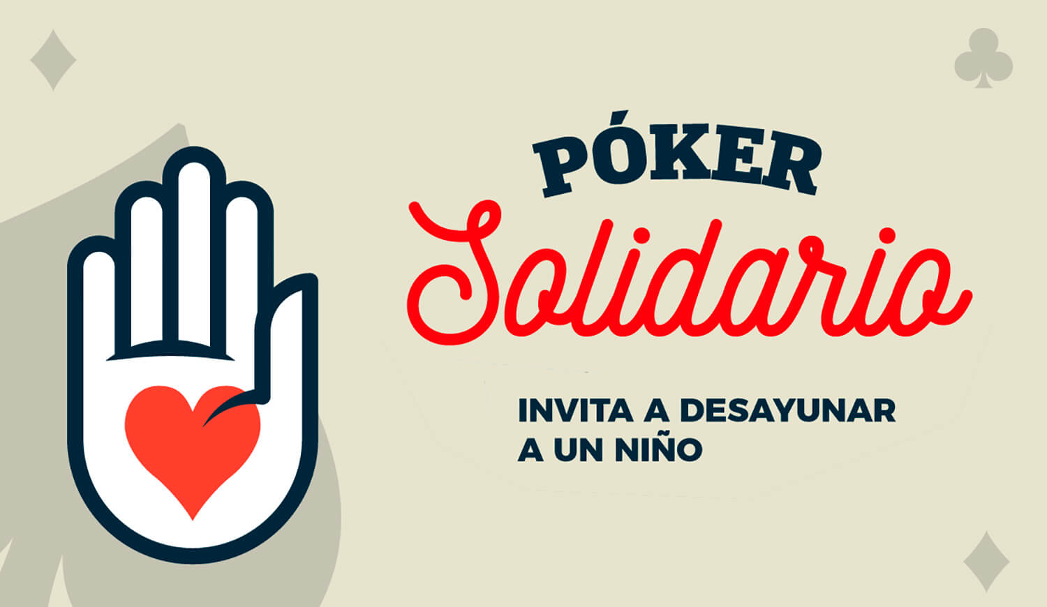 Poker solidario
