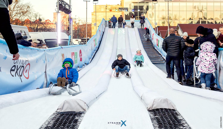Pista de patinaje sobre hielo Bilbao