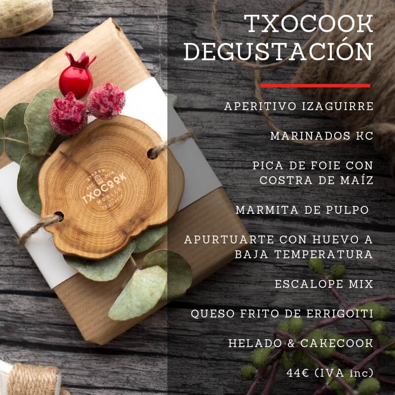 Txocook Degustación