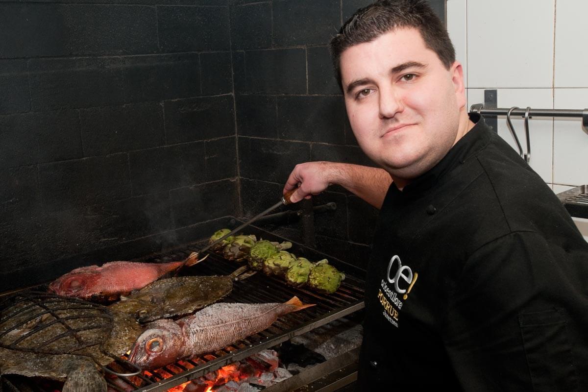 Unai Campo. Chef del Restaurante Porrue Bilbao