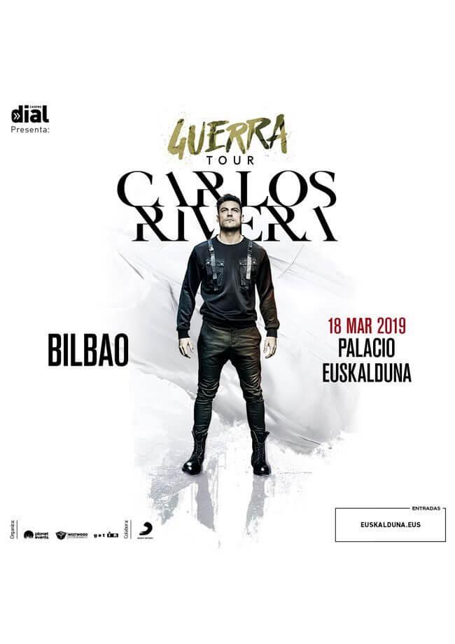 Concierto Carlos Rivera en Bilbao