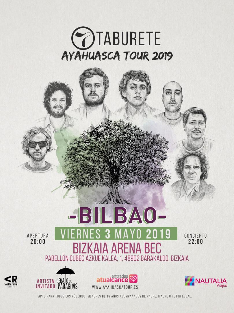 Concierto de Taburete en Bilbao
