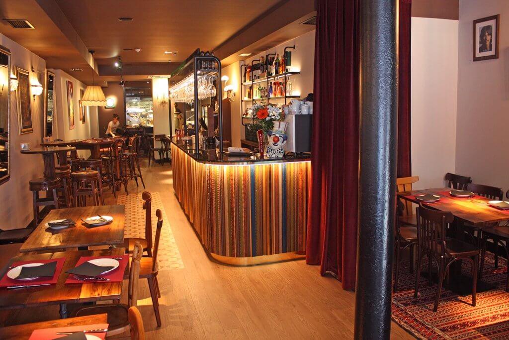 Coppola - pequeño y acogedor restaurante italiano en Bilbao - Restaurante italiano Francis Ford Bilbao