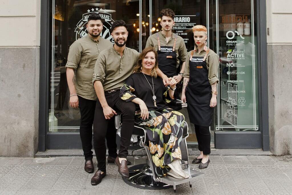 Marcel Arranz - La Barbería del Ensanche, en pleno centro de Bilbao. - Marcel Arranz - La Barberia del Ensanche en Bilbao