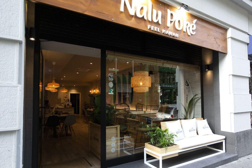 Nalu Poké - First surf bar in Bilbao with Poke Bowls - Nalu Poke Bilbao