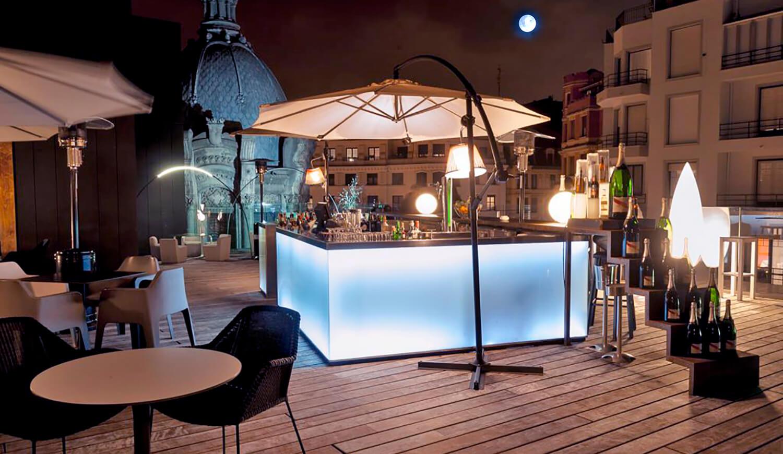 Terraza del Restaurante Yandiola de Bilbao