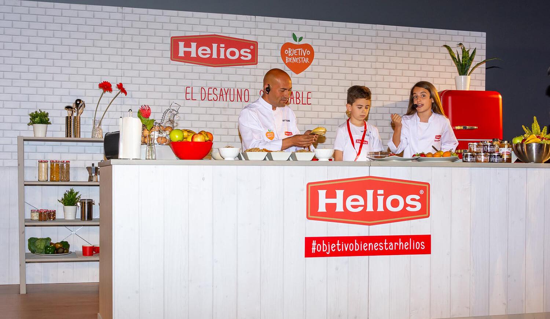 Jornadas del Desayuno Saludable con Objetivo Bienestar y Helios