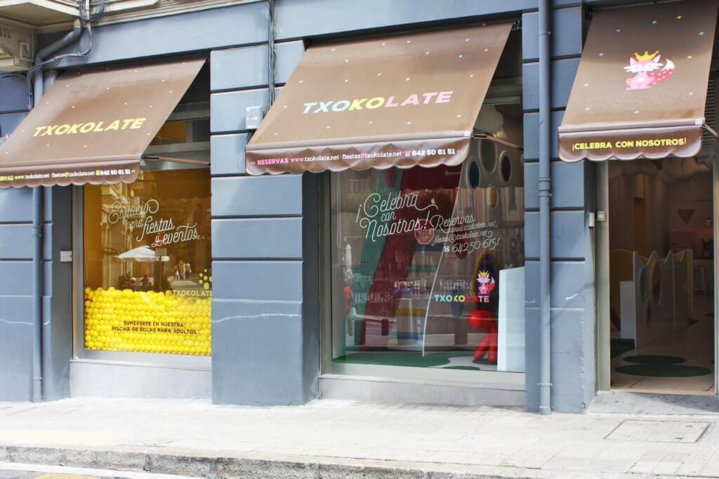 Txokolate. Espacio para celebrar cumpleaños y fiestas infantiles en Bilbao. - Txokolate sala eventos Bilbao