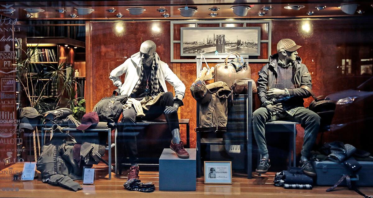 Gerardo, tu tienda de ropa masculina en Bilbao.