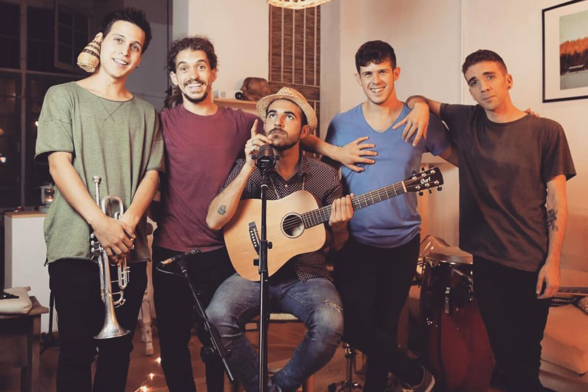 Nil Moliner y su banda