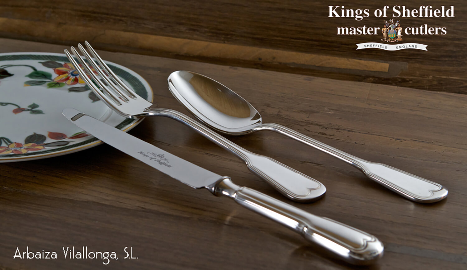 Cubertería Kings Of Sheffield en Joyería Arbaiza