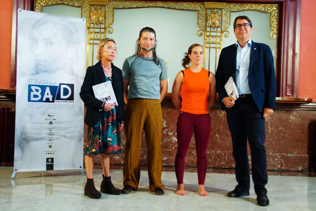 Referentes Internaciones presentes en este Festical de Teatro y Danza