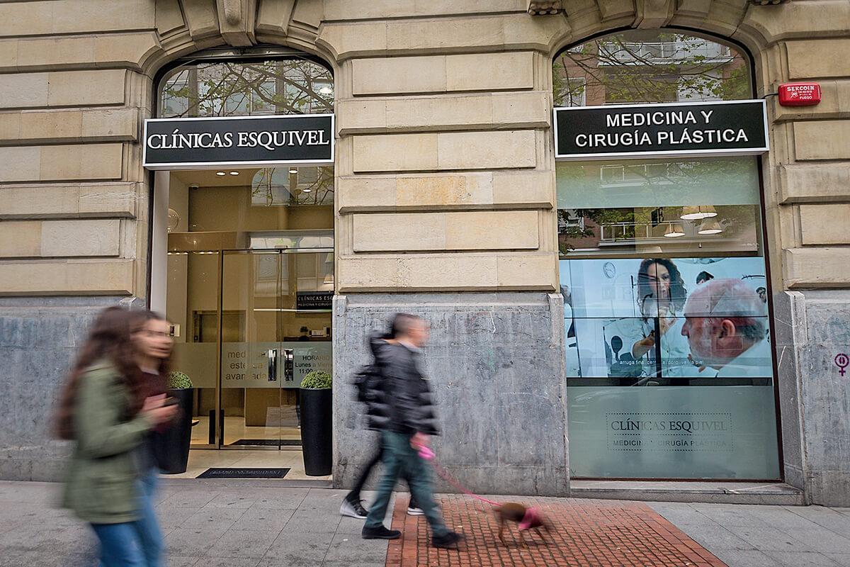 Clínica Esquivel en Gran Vía 51, Bilbao