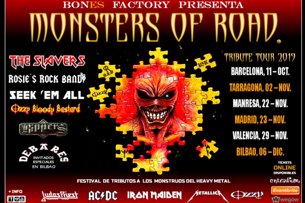 Festival Monsters of Road Bilbao 2019
