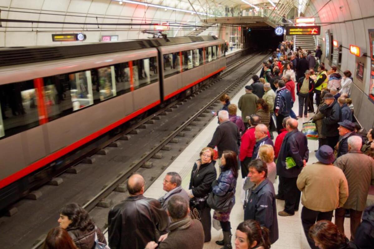 25 aniversario por el Metro Bilbao
